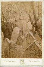 J. Marmand, Prague, Cimetière Juif, ca.1875, vintage albumen print Vintage album