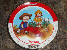Danbury Mint Limited Edition Porcelain Plate Tomato Soup Campbell Kids