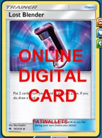4X Lost Blender 181/214 Lost Thunder Pokemon TCG Online Digital Card