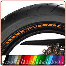 KTM 1190 wheel rim stickers decals - choice of 20 colours -  adventure rc8 r