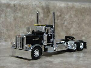 DCP 1/64 Black Chrome Peterbilt Pride Class Daycab Semi Truck Farm Toy