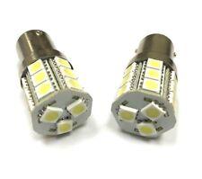 2x BRIGHT White 1157 5050 21 SMD Tail Brake Stop Backup Reverse LED Light Bulbs