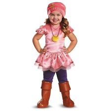 Izzy Deluxe Costume Disney Jake And The Neverland Pirates Halloween Girls 2T