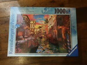 Ravensburger 1000 piece Jigsaw Puzzle Venice Romance art romantic new sealed