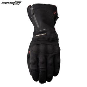 Five Wfx City Lang Manschette Wasserdicht Winter Schwarz Motorrad Handschuhe