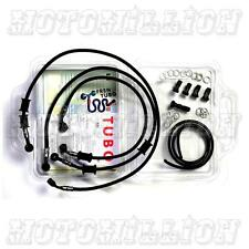 Fren Tubo Carbon Fiber Braided Brake Clutch Line Kit KTM RC8-R 2009-2014