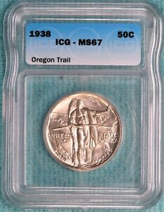 1938-P MS-67 Oregon Trail Commemorative Uncirculated