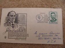 FDC Envelope: Argentina - Juan Oucetich (1962)