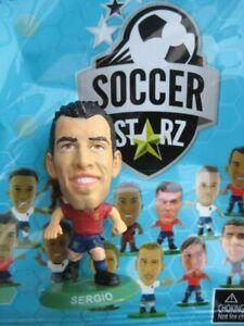Sergio Spain SoccerStarZ MicroStars Euro 2020 Foil Bag Edition Green Base