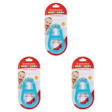 3X NEW BRUSH BUDDIES BABY CARE TODDLER TOOTHBRUSH 3-36 MONTHS DISCOMFORT RELIEF