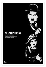 """Cuban movie Poster for""""The KID""""Charles Claplin.Chicuelo.Black and White film"""