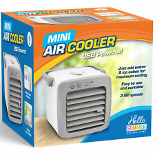 Mini Air Cooler Fan Portable Conditioner Humidifier Purifier USB Room Cooling