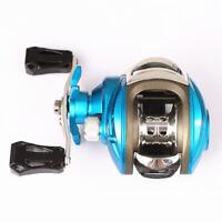 Low Profile Baitcasting Fishing Reel Magnetic Brake 7.2:1 Gear Ratio 5KG Drag