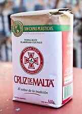 Cruz De Malta Yerba Mate - 500g (1.1 lbs) - Free Shipping