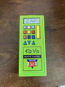 Burger King 1992 Its Magic 2 Burger King Kids Club Kid Vid Remote Control Trick