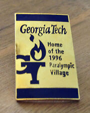 Atlanta 1996 Georgia Tech Home of the 1996 Paralympic Village Olympic Pin