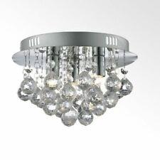 Chrome Droplet Ceiling Light