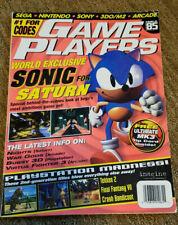 Game Players Magazine Sega Nintendo Sony June 1996 Sonic Hedgehog Issue #85