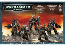 Games Workshop 40k Chaos Space Marines Chaos Terminators (2007 Ed) VG
