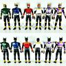"Rare Bandai Masked Rider Kuga 7"" Soft Vinyl Action Figure Set of 6 Forms"