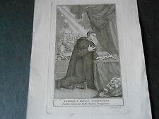 1800 ACQUAFORTE SAN FILIPPO BENIZI FIORENTINO INCISORE GIUSEPPE BENAGLIA
