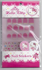 Sanrio Hello Kitty Nail Stickers With File Pink