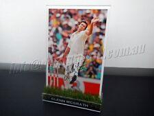 ✺Signed✺ GLENN MCGRATH Photo & Frame PROOF COA Australia 2018 Shirt Cricket