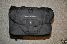 "LEHMAN BROTHERS ~ ""VICTORINOX"" ~COMPUTER, LAPTOP, TABLET, MESSENGER, CANVAS BAG"