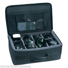 Vanguard Divisor bolsa 40 tiene 2 cámaras DSLR y hasta 6 Lentes