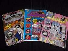 TO BE ANNOUNCED 1 2 and 3 STRAWBERRY JAM COMICS 1985 COMICS