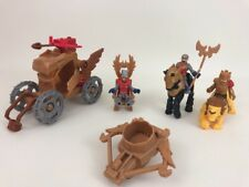 Castle Royal Coach Fisher Price Imaginext Toy Playset Extras King Battle 11 Pc