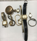 JUNK+DRAWER+LOT+POCKET+Watch+Jewelry+Wrist+watches+Elgin+bulova+Wyler+start.99