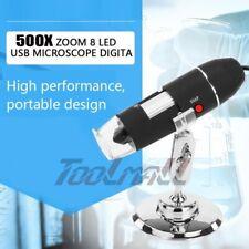 500x Magnifier 8led Digital Microscope Camera Usb For Mac Window 7810xpvista