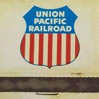 Union Pacific Railroad Mount Hood Match Book NOS  Vintage  C. 1960's   -C-