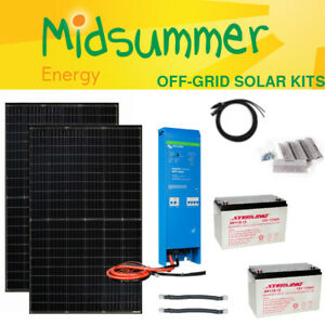 EASY Complete Solar Off-Grid Battery Kit - 700W - Victron EasySolar - AC Power