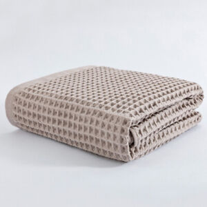 High Quality Cotton Waffle Bath Towels For Adult Soft Absorbent Towel