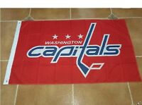 Washington Capitals 3x5 Feet Banner Flag MLB baseball
