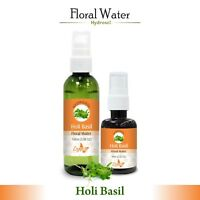 Holy Basil ( Tulsi ) Hydrosol (Floral Water) 60ml / 100ml Pure And Natural