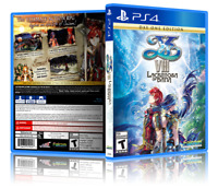 YS VIII:  Lacrimosa Of Dana - Replacement PS4 Cover and Case. NO GAME!!