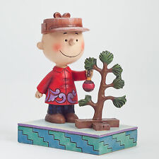 Jim Shore Peanuts Find the Christmas Tree Spirit 4042371 NEW Charlie Brown NIB