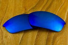 Deep Ocean Blue Cobalt Polarized Mirror Replacement Lenses for Oakley Bottlecap