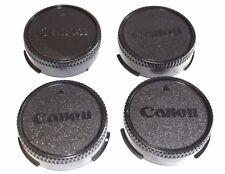 4 X CANON FD Objektiv Rückdeckel *NEU  OVP*,Deckel ,Canon FD Rear Lens Cap ,New