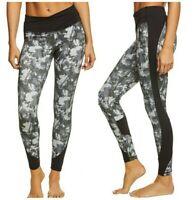MANDUKA Wrap Up Leggings Small Yoga Pants Pilates Floral Camo Print