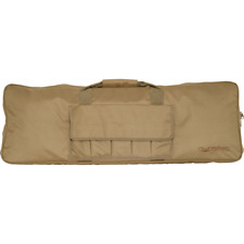 "Valken Airsoft Protective Single Rifle Soft Gun Case 36"" 5 External Pouches Tan"