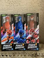 "Power Rangers Beast Morphers Cybervillain Blaze Blue Red 12"" inch Action Figure"