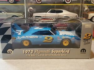 Ertl Winged Warriors 1970 Plymouth Superbird Norm Nelson #2 1:18 Scale Diecast