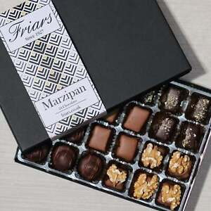 Friars Luxury Marzipan Chocolate Assortment Selection Collection - 24 Chocs