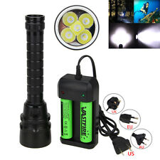 15000Lm Xm-L T6 Led Scuba Diving Flashlight Fishing Torch Lamp Waterproof 100m