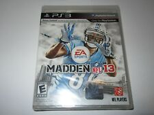 Madden NFL 13 (Sony PlayStation 3, 2012) New Sealed