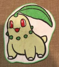 Nintendo Pokemon Chikorita Wash Cloth 2001 Pokemon Center 100% Cotton RARE